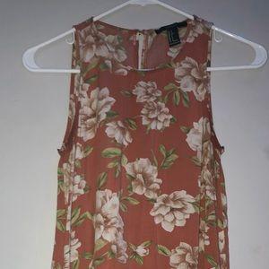 Forever 21 mini flowered dress